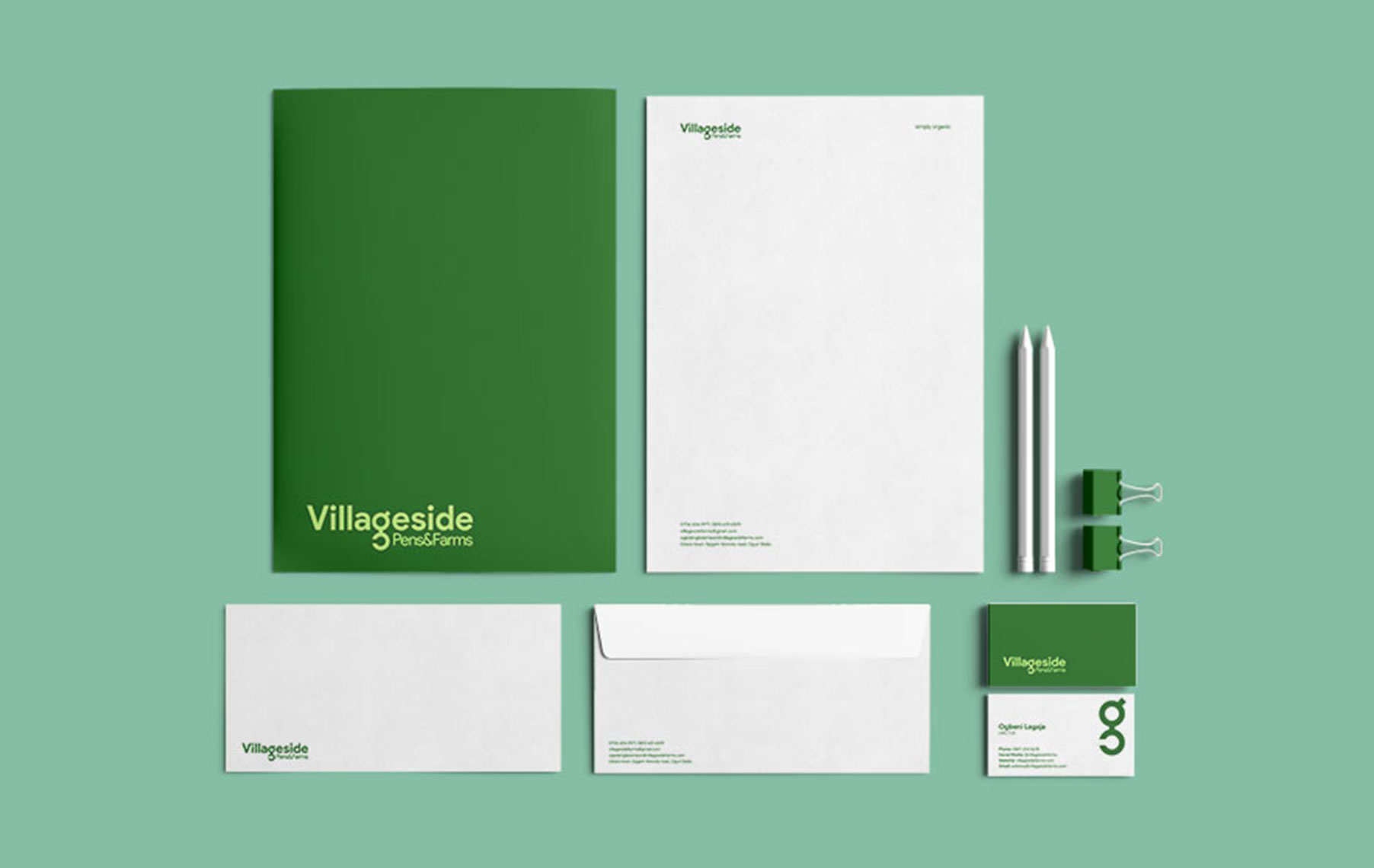 Villageside-stationery