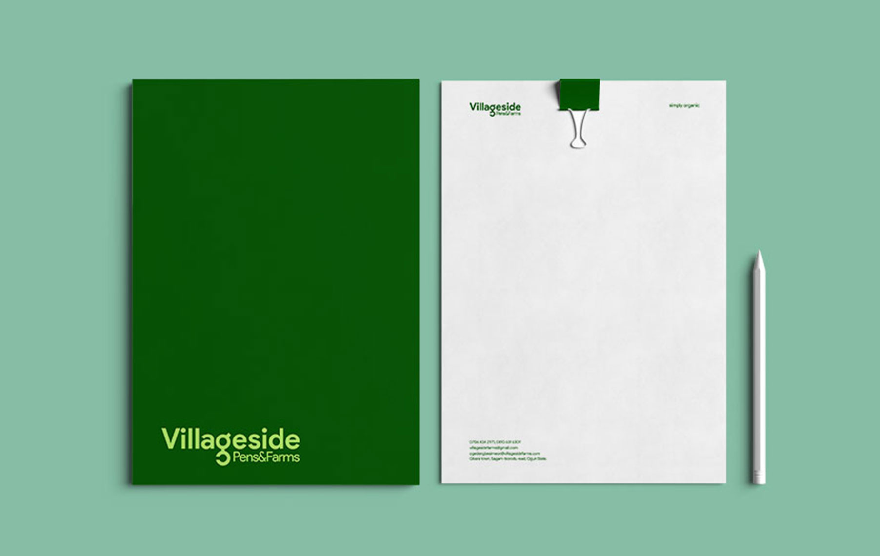 Villageside_file-jacket_and_letterhead